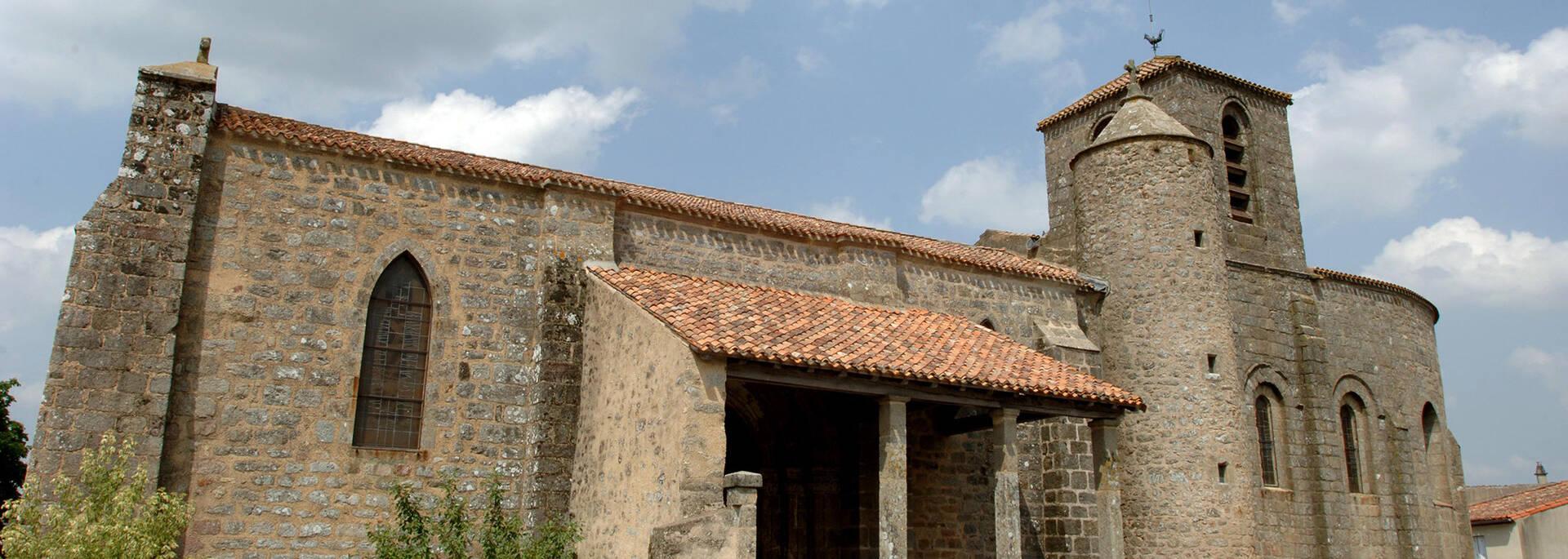 Eglise de Saint Sauveur-de-givre-en-mai - Journées du Patrimoine en Bocage Bressuirais