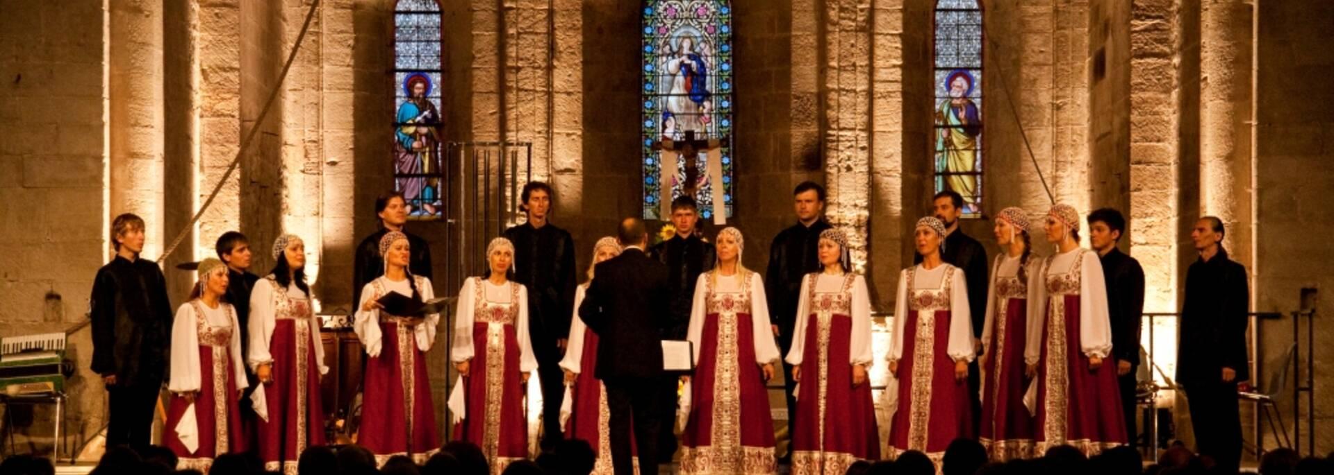 Festival Eclats de Voix à Moncoutant : Choeur de Crimée