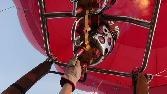 Montcoutant montgolfière
