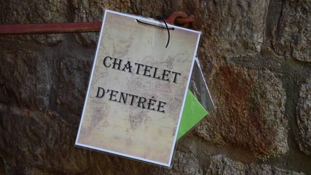 Chasse au trésor au château de Bressuire
