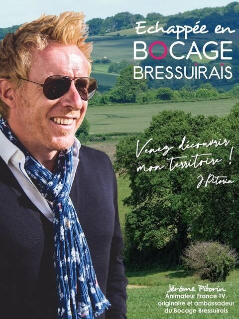 Jérôme Pitorin, animateur France TV et ambassadeur du Bocage Bressuirais