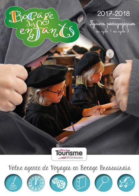 Brochure séjours pédagogiques en Bocage Bressuirais 2017-2018