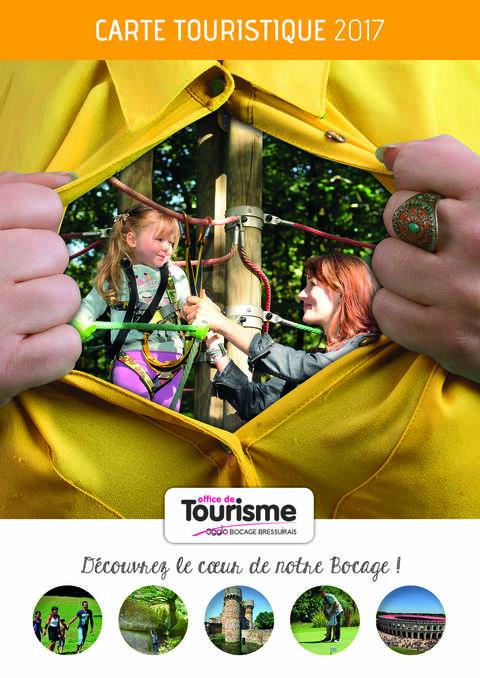 Carte Touristique du Bocage Bressuirais