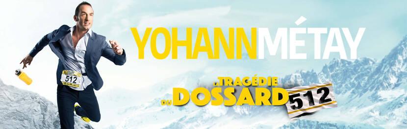 """Spectacle """"Tragédie du Dossard 512"""" avec Yohann Métay à Bocapole Bressuire"""