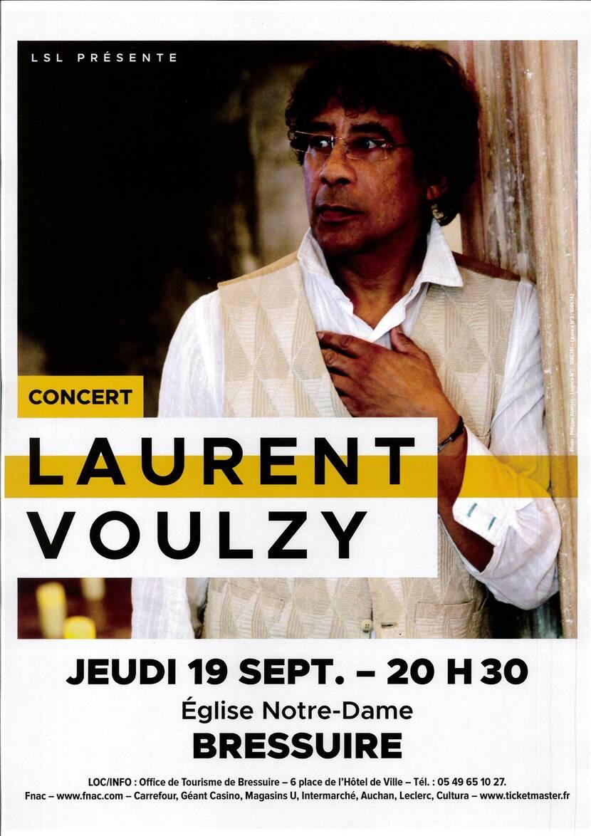 Concert de Laurent Voulzy à l'église Notre-Dame de Bressuire