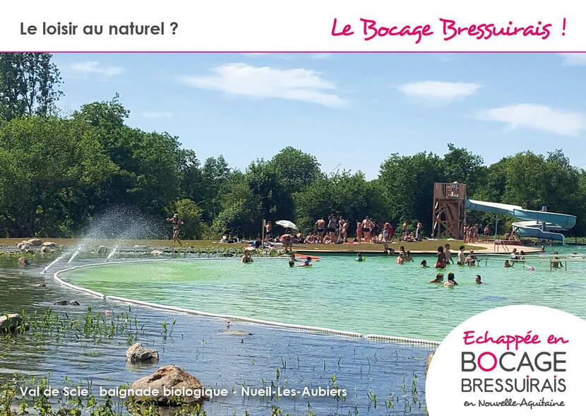 Le Bocage Bressuirais et Val de Scie, baignade biologique