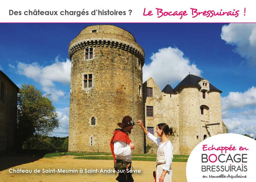 Le Bocage Bressuirais : des châteaux chargés d'histoire