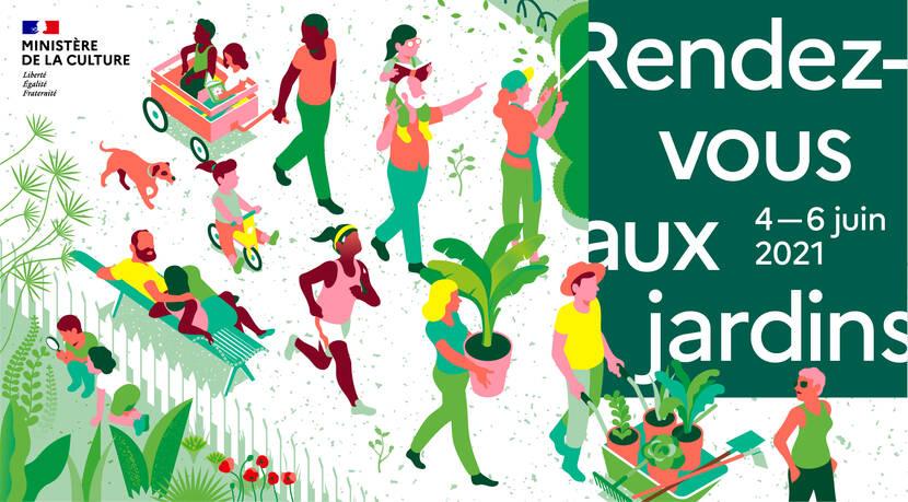 Rendez-vous aux Jardins en Bocage Bressuirais et en Nouvelle Aquitaine - Edition 2021