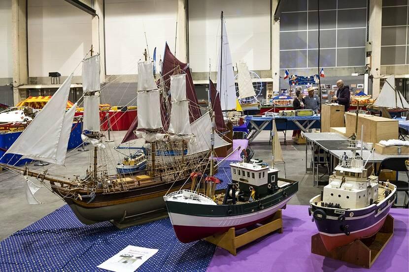 Salon MaquettExpo Bressuire, salon des maquettes et modèles réduits à Bocapole