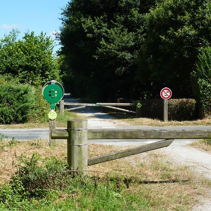 Passage voie verte