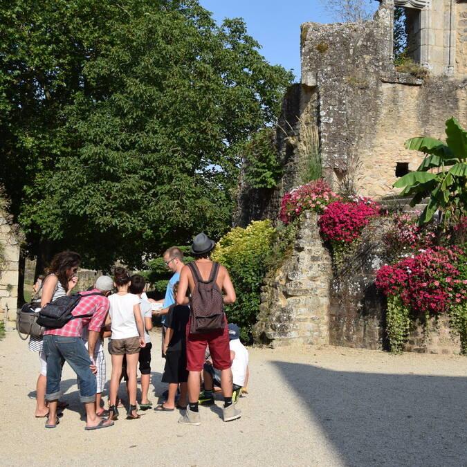 Chasse au trésor au château de Bressuire @OTBB