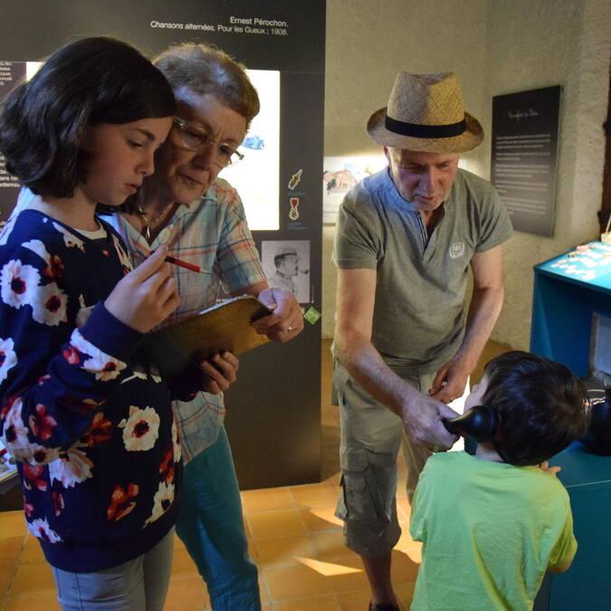 Exposition Ernest Pérochon à la Tour Nivelle @OTBB
