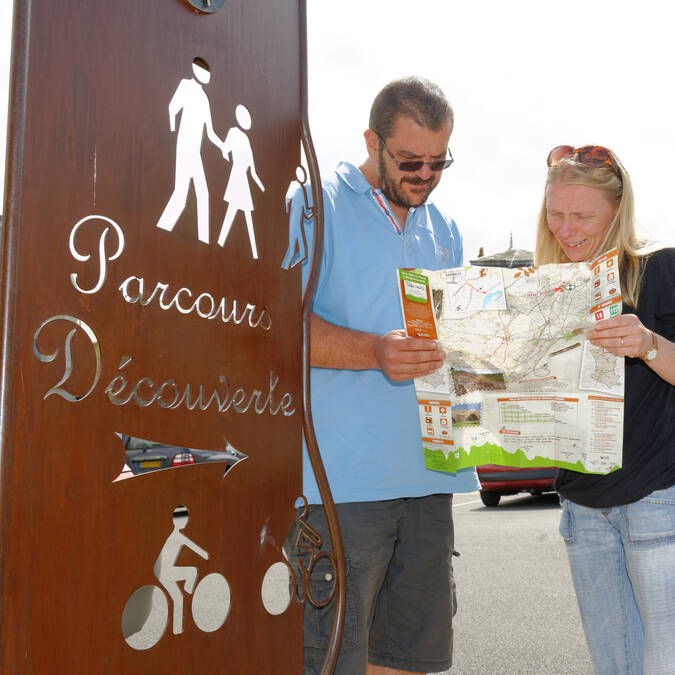 Parcours découverte à Argentonnay @PWall/CD79
