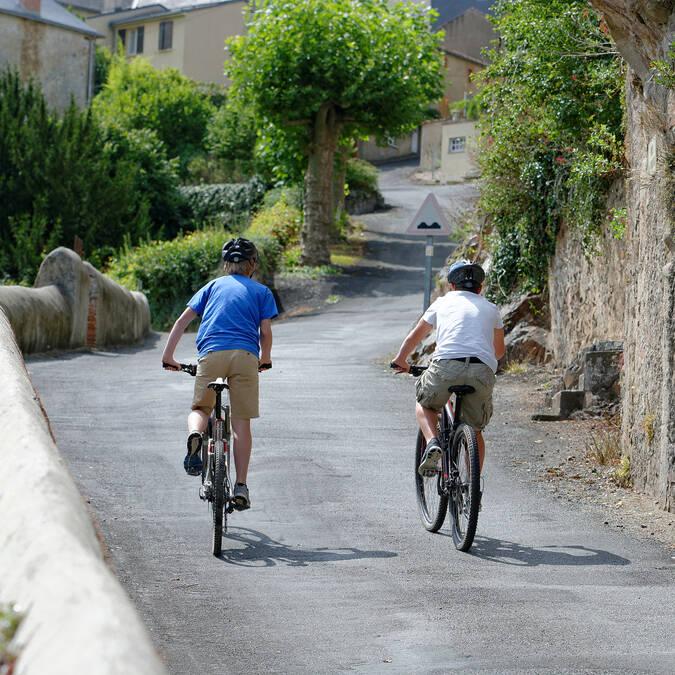 Vélo Route « Vallée de l'Argenton » à vélo @PWall/CD79
