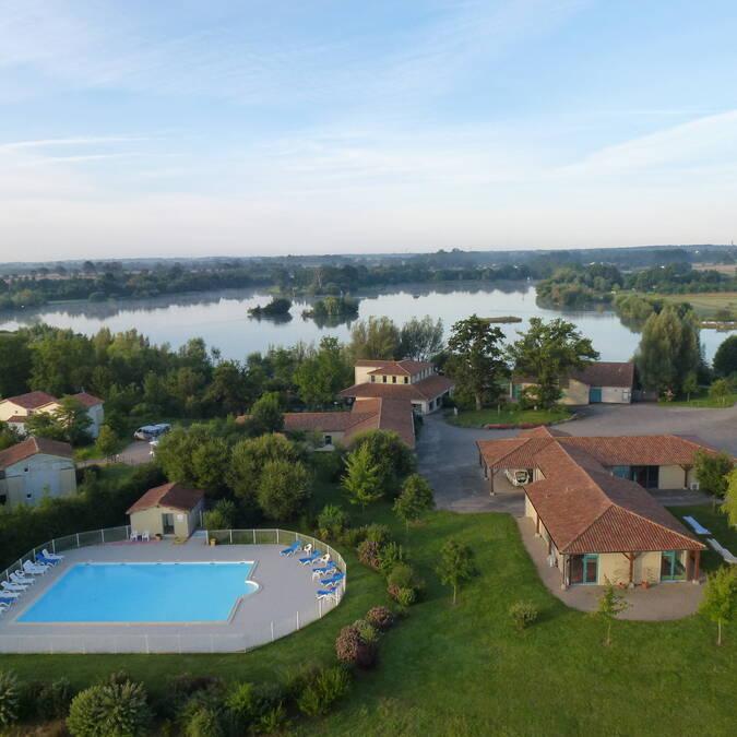 Vue aérienne de Pescalis @Pescalis
