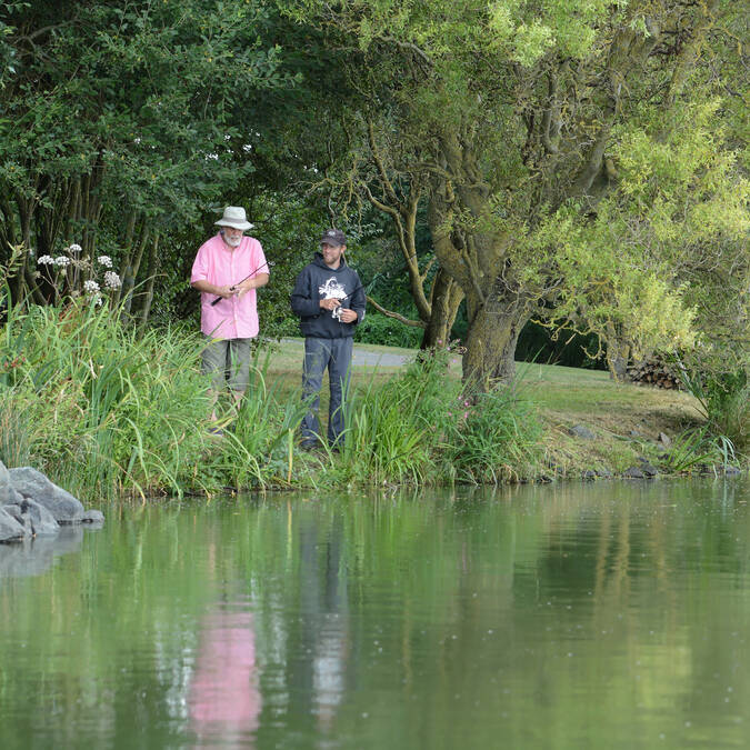 Initiation à la pêche à Pescalis  @PWall/CD79